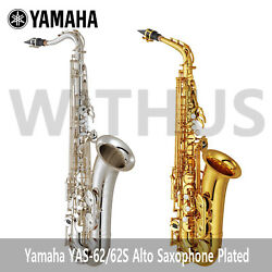 [to Russia] Yamaha Yas-62/yas-62s 04 Alto Saxophone Plated Latest Model By Cdek