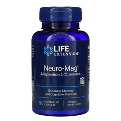 Life Extension - Neuro-mag Magnesium L-threonate From 2000 Mg Magtein 90capsules