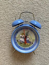 Nwot Vintage Raggedy Ann And Andy Metal Alarm Clock By Schylling