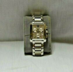 Vintage Esquire Watch Company All Stainless Steel Swiss Made Quartz Movement