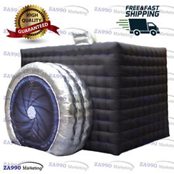 13x13ft Inflatable Photo Booth Event Tent Wedding Party With Air Blower