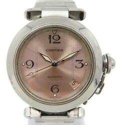 Pasha C Watch Stainless Steel Pink 0922