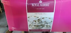 Royal Albert And039old Country Rosesand039 12-piece Dinnerware Set