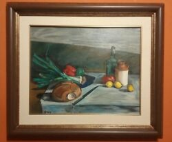 Master Latinamerican Painter Still Life Composition - Oil Canvas / Signed