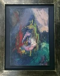 European Master Asger Jorn - Oil On Canvas Painting / Abstract / Very Rare