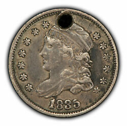 1835 H10c Capped Bust Silver Half Dime - Vf/xf - Value Coin - Sku-t2826