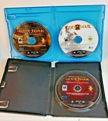 God Of War 1, 2, 3 And Origins Collection Playstation 3 Ps3 Discs Only 5 Games