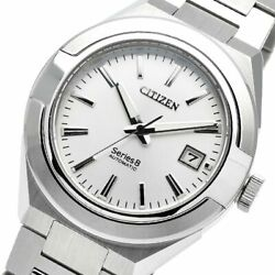 Citizen Series 8 Na1000-88a 870 Mechanical Automatic Watch Silver Dial Cal.0950