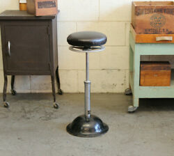 Vintage Industrial Ritter Operating Dental Stool Medical Chair 1930s Ma
