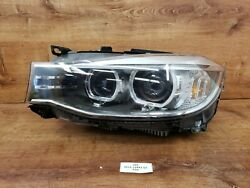 ✅14-16 Oem Bmw F34 328 335 Gt Left Driver Side Adaptive Xenon Headlight Complete