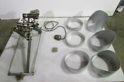 H And M Flange Beveling Machine-variable Speed Drive Foot Pedal-victor Torch Head