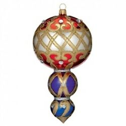 Waterford Holiday Heirlooms 7 Multi-tier Drop 2013 Opulence New In Box 162987