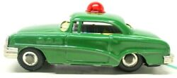 Vintage Tin Friction Linemar/marx 1950's Buick Police Remote Control Opp Car
