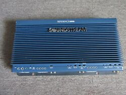 Old School Soundstream Reference 644s Car Amplifier 4 Channel Amp