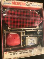 Vintage 1960's Hasbro Junior Shaving Kit Old Store Stock Mint Boxed Nos Playset