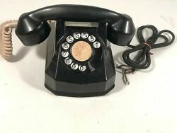 Automatic Electric Monophone Vintage Model 40 Bakelite Phone Display Made In Usa