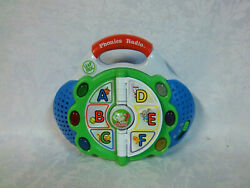Leapfrog Phonics Radio 7 Learning Toy Carry Along Educational Sound Lights Toy