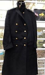 🇺🇸wwii Us Military Navy Officer Greatcoat 🇺🇸 Named Dated Pacific Theatre