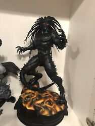 Extremely Rare Blackheart 1/4 Scale Custom Statue Is Nt Xm Or Sideshow Low 6