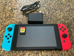 Nintendo Switch Console Video Game Handheld Sonic Mania Included