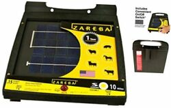 Esp10m-z 10-mile Solar Low Impedance Electric Fence Fence Charger