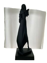 Austin Productions 1988 Rare Madam Butterfly Sculpture By David Fisher