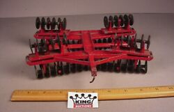 Vtg Ertl International Ih Fold Out Disc 116 Farm Tractor Metal Toy Implement