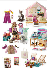 American Girl Doll Kira's Girl Of The Year 2021 Ultimate Collection Lot Nrfb