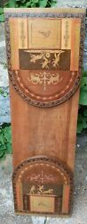 Antique Tunbridge Ware Marquetry Inlay Book Stand Not Slide