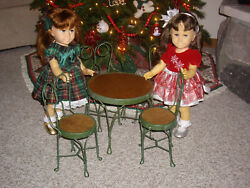 Doll Table And Chairs For Chatty Cathy, Besty Mccall, Cissy, American Girl 14-20