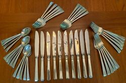 Craftsman By Towle Sterling Silver Flatware Set Service For Ten + 27 Servers