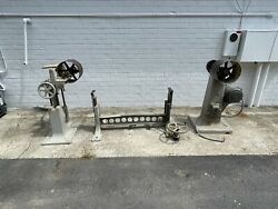 Vintage/antique Woodworking Machinery Wysong And Miles Stroke Sander