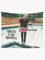 Tickets to My Downfall Wall Tapestry Machine Gun Kelly Singer Wall Tapestry