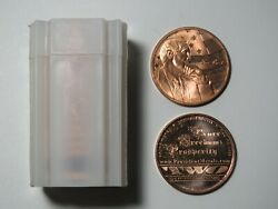 Ron Paul Freedom And Prosperity 1 Oz Copper Round - Aocs Provident - Tube Of 20