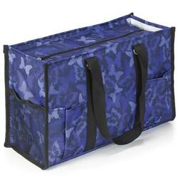 ALL PURPOSE WATERPROOF UTILITY SHOPPING DIAPER BEACH TOTE BAG BUTTERFLY CAMO $14.75