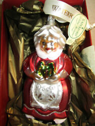 Waterford Holiday Heirlooms Mrs Clause Christmas Ornament 144148
