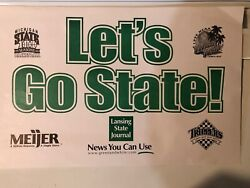 Michigan State-1999 Ncaa Letand039s Go State Poster