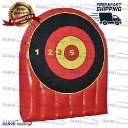 Commercial Inflatable Target Dart Board Sport Game With Air Blower - 6.6ft