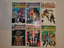Marvel Comics Lot Kitty Pryde And Wolverine 1-6 1984 - Milgrom