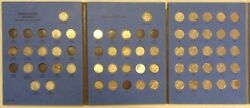 Canadian Silver Dime Book 1937-1997 Near Complete 53/64 .800 Silver Coins