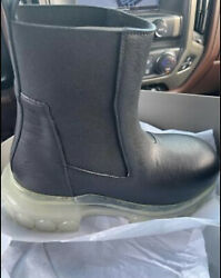 Rick Owens Beatle Bozo Tractor Leather Boots