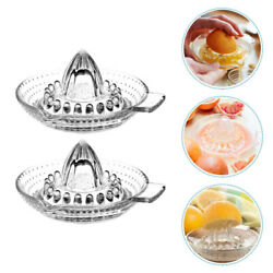 1pc Useful Fruit Juicer Machine Glass Fruit Squeezer For Kitchen Home