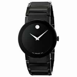 Movado 0606307 Sapphire 38mm Menand039s Black Stainless Steel Watch