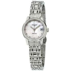 Longines L2.263.0.87.6 Saint-imier 26mm Womenand039s Stainless Steel Watch