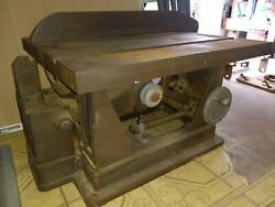 Vintage Craftsman Sears Table Saw Workbench 103.0213. 1945-1949 Tested + Motor