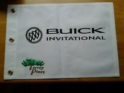 Buick Invitational Pin Flag Tiger Woods At Torrey Pines Golf Course Open Pga