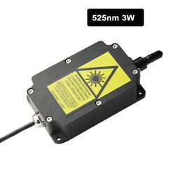 Fiber Coupled Lasers 525nm 3w Green Laser Module Material Evidence Investigation