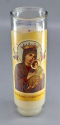 Devotional Candle - Our Lady Of Perpetual Help - Catholic Ceremonial Candle