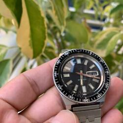 Seiko 5 Sports Modified Overhaul 5126-8080 Used Automatic Mens Watch Auth Works