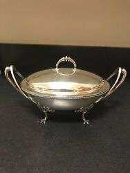 Early Gorham American Sterling Tureen 44.9 Troy Oz ... Early Coin Silver